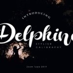Delphine Calligraphy Font