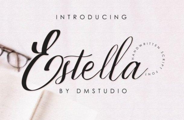 Estella Calligraphy Font