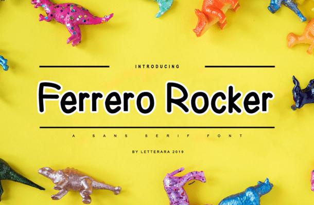 Ferrero Rocker Font
