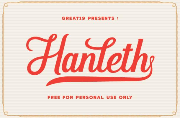 Hanleth Font