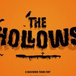 Hollows Display Font