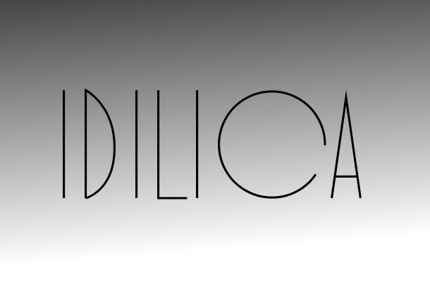 Ldilica Display Font
