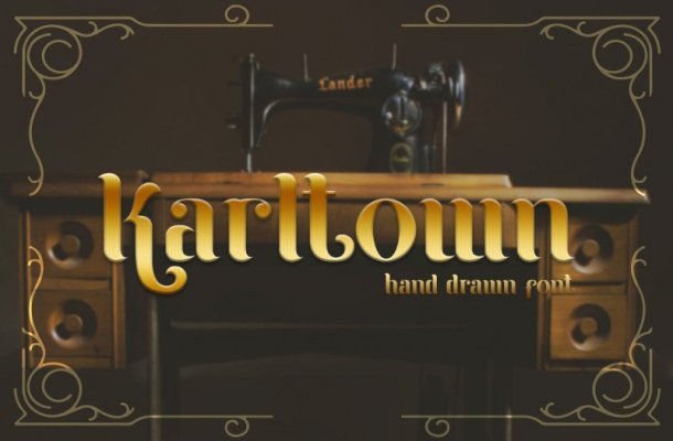 Karltown Display Font
