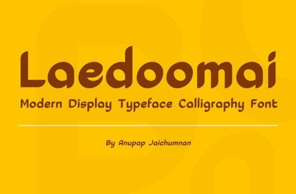 Laedoomai Font