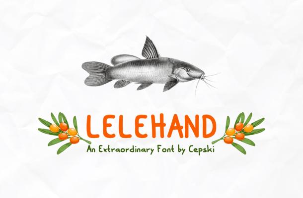 Lele Hand Font