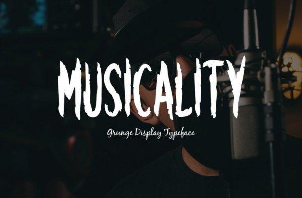 Musicality Font