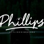 Phillips Handwritten Font