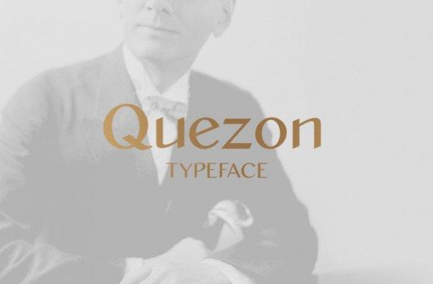 Quezon Sans Serif Font