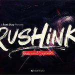 Rushink Font Duo – Brush & Signature