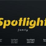Spotlight Sans Font Family