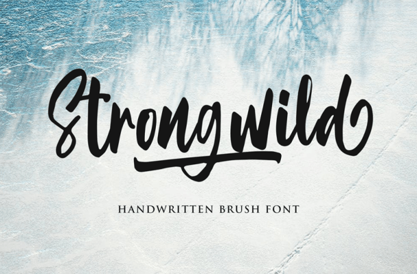 Strongwild Font