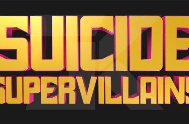 Suicide Super Villains Display Font