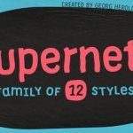 Supernett Sans Font