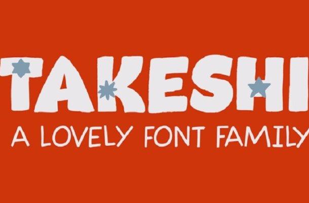 Takeshi Font