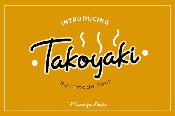 Takoyaki Handwritten Font