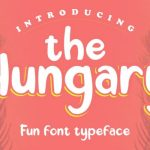 The Hungary Display Font