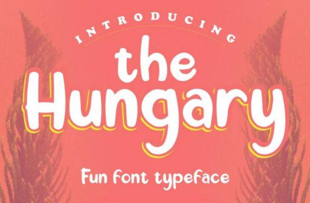 The Hungary Display Font