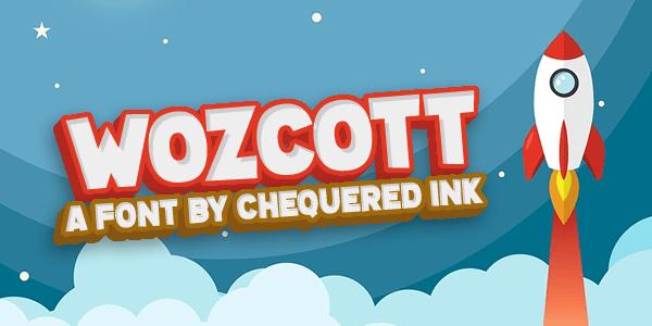 Wozcott Font