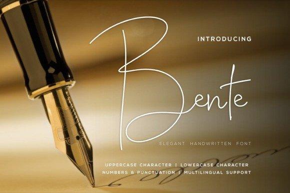 Bente Font
