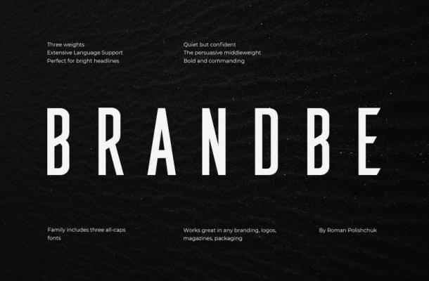 Brandbe Sans Font Family