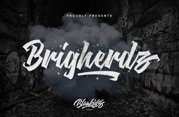 Brigherdz Blackletter Font