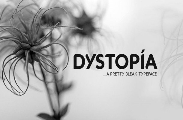 Dystopia Font