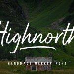 Highnorth Script Font