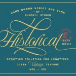 Historical – Handdrawn Font Duo