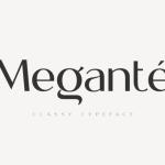 Megante Display Font