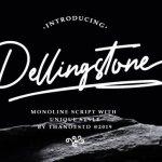 Dellingstone Signature Font