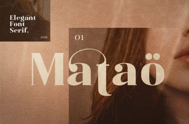Mataö Serif Font