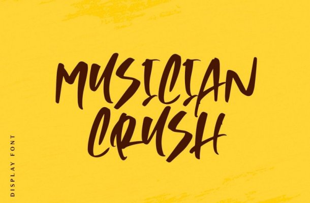 Musician Crush Script Font