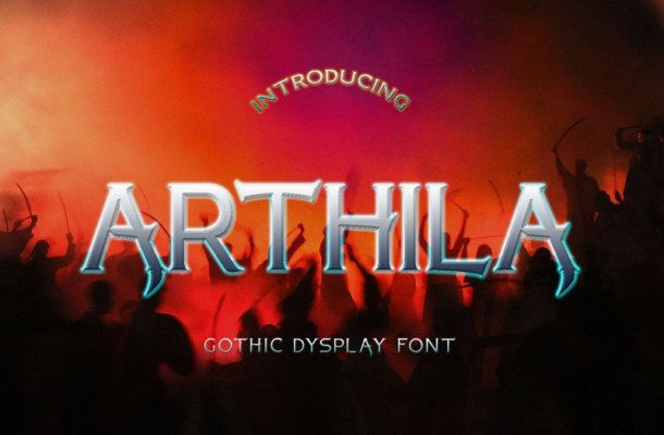 ARTHILA Display Font Free