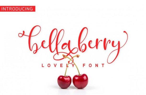 BellaBerry Script Font Free