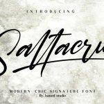 Saltacrus Script Font Free