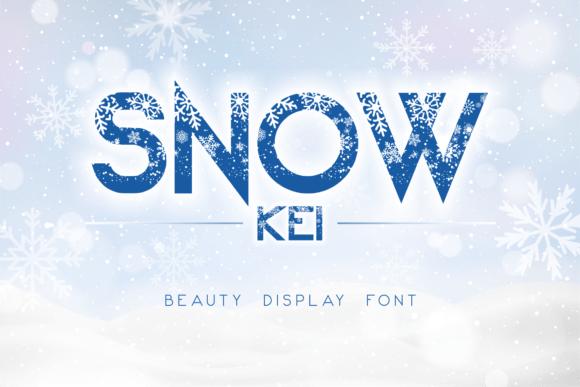 Snow Kei Typeface Free