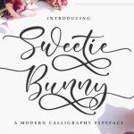 Sweetie Bunny Script Font Free