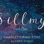 Sillmy Script Font Duo