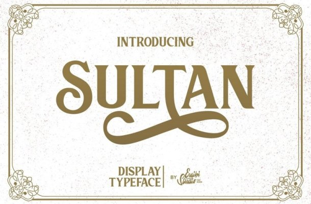 Sultan Serif Font