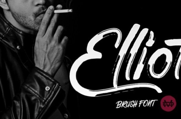 Elliot Brush Font