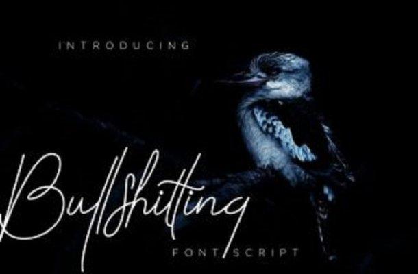 Belliatthing Signature Font