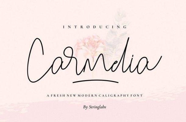 Carmelia Script Font