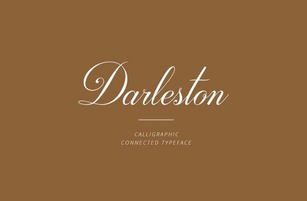 Darleston Modern Calligraphy Font
