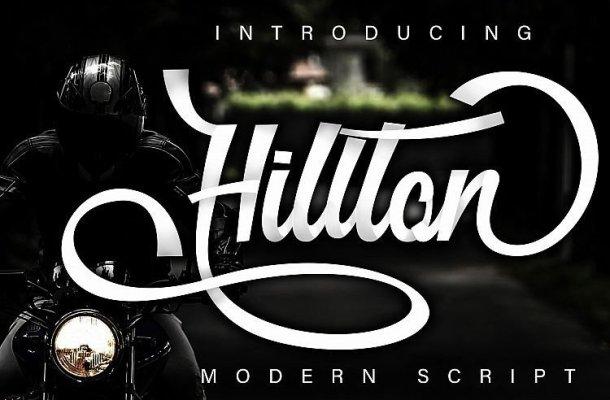 Hillton – Modern Script Font