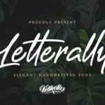 Letterally Script Font