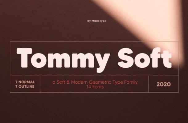 MADE Tommy Soft Font Family