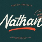 Nathan Script Font