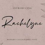 Rachelyne – Modern Calligraphy Font