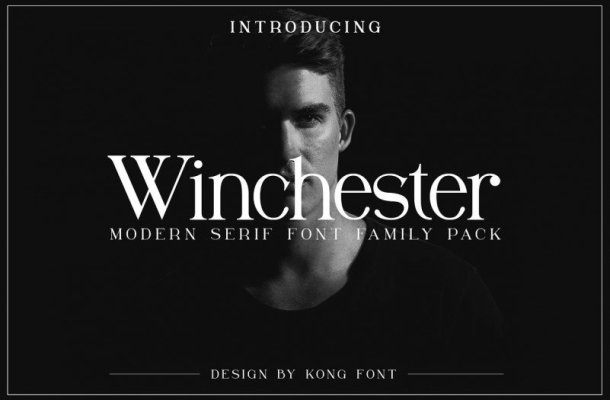 Winchester Serif Font