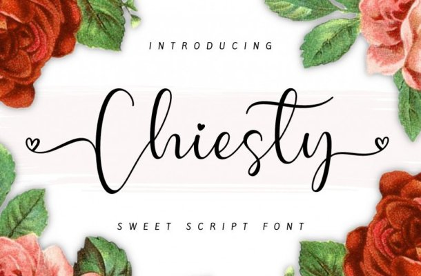 Chiesty Script Font